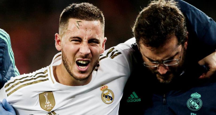 نجم ريال مدريد هازارد يغيب عن مواجهة أتالانتا