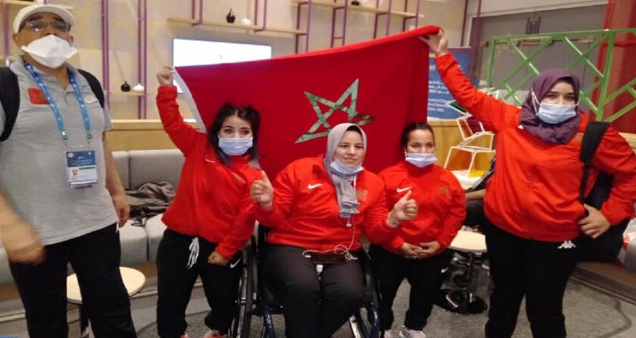 المغرب يحرز تسع ميداليات في اليوم الأول للملتقى الدولي الخامس عشر لألعاب القوى لذوي الإعاقة