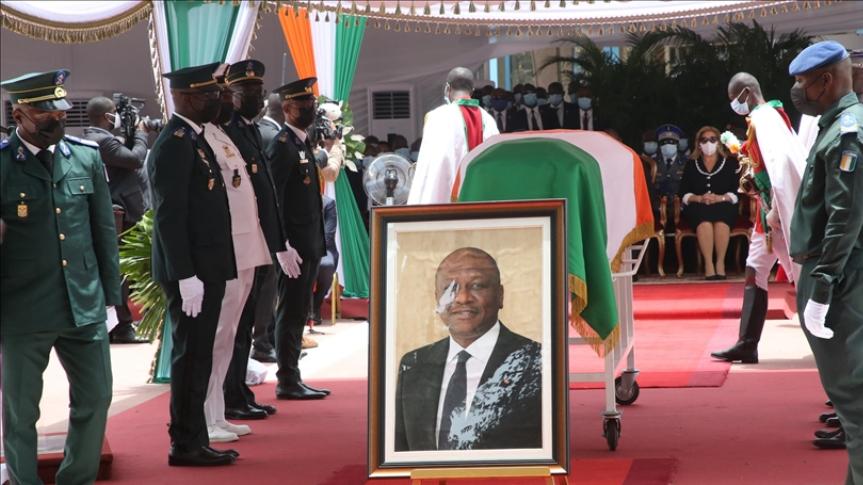 Côte d'Ivoire: le premier ministre Hamed Bakayoko inhumé