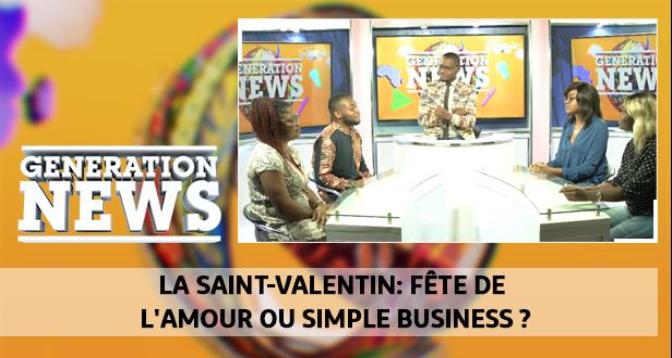 Generation News > La saint-valentin: fête de l'amour ou simple business ?