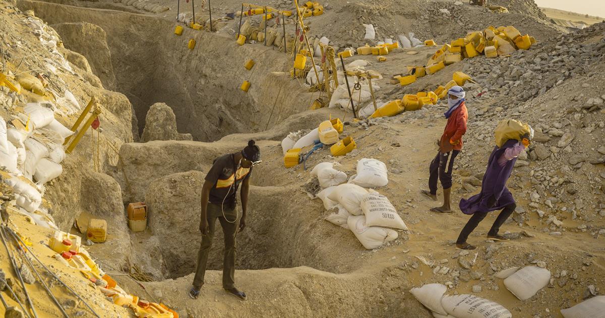 المنقبون عن الذهب القاتل في موريتانيا!