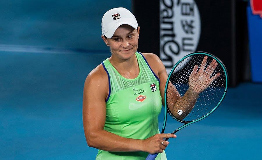 تصنيف المحترفات في كرة المضرب: الأسترالية آشلي بارتي تحافظ على الصدارة