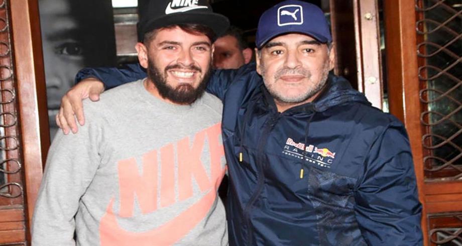 نجل مارادونا دييغو جونيور سيحصل على الجنسية الأرجنتينية