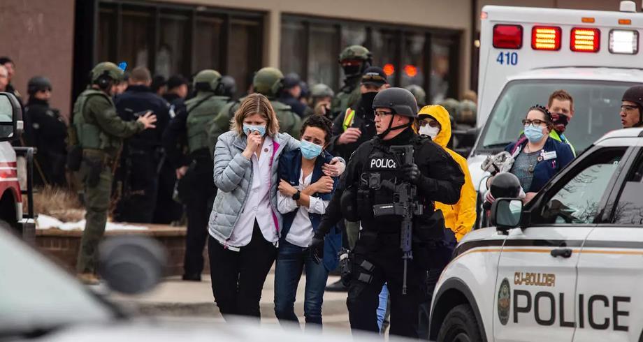 عشرة قتلى في إطلاق نار بمتجر في ولاية كولورادو الأمريكية