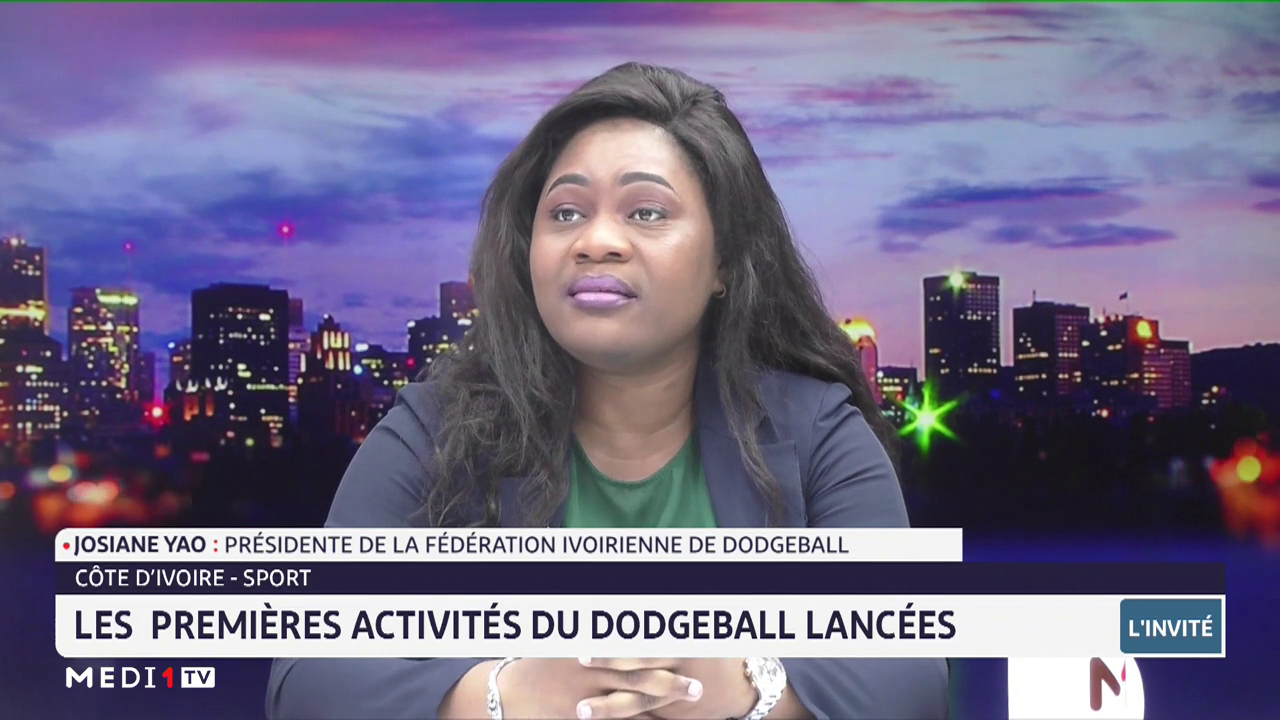 Côte d'Ivoire-Sport: les premières activités du dodgeball lancées