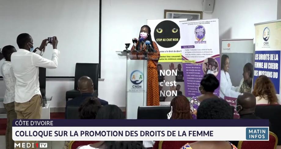 Côte d'Ivoire:  colloque sur la promotion des droits de la femme