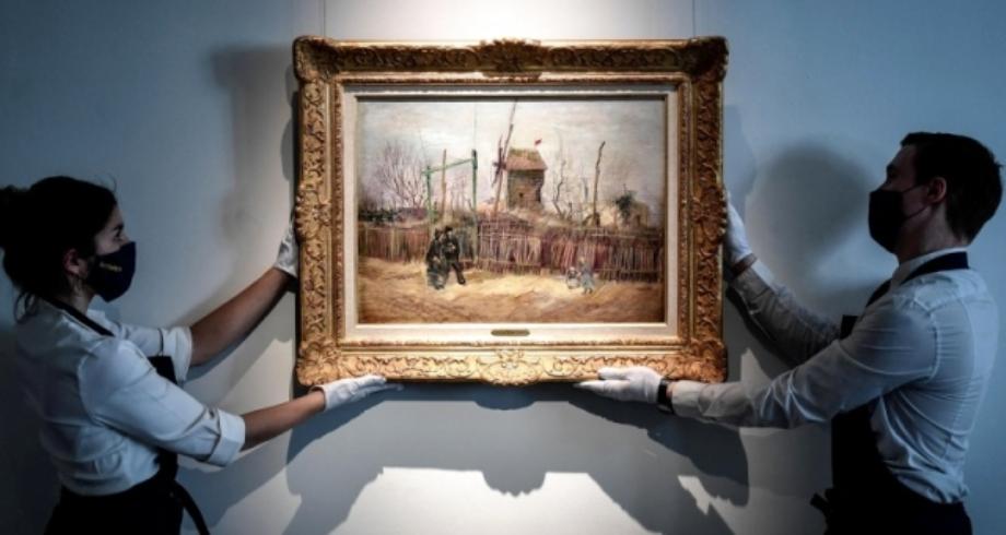 بيع لوحة للفنان الهولندي فان غوخ مقابل أكثر من 15 مليون دولار