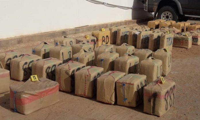 Affaire de démantèlement d'un réseau de trafic international de drogue à Kénitra: Saisie de 4,9 tonnes de chira à Aït Melloul