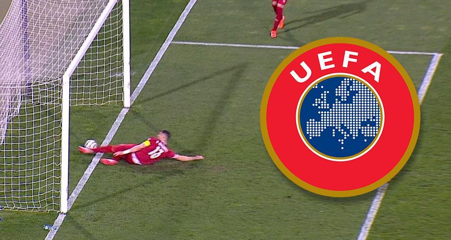 """الهدف الملغي لرونالدو ضد صربيا.. """"اليويفا"""" تخرج عن صمتها"""