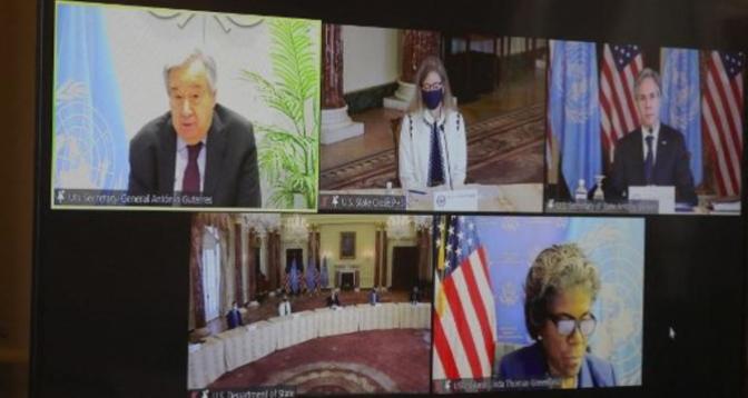 مؤتمر بروكسيل يتناول الوضع الإنساني في سوريا