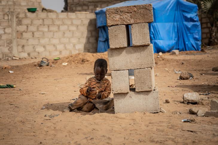 أطفال إفريقيا ضحايا الإرهاب