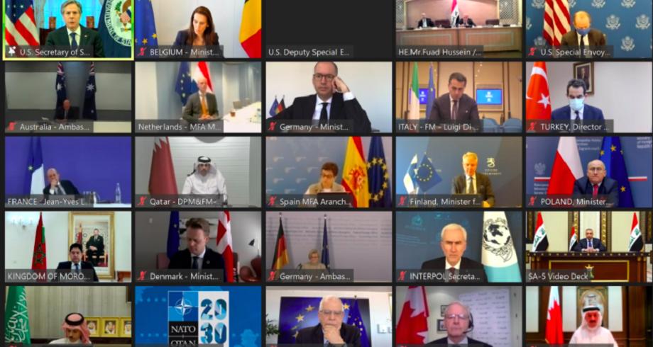 """بيان مشترك لوزراء خارجية المجموعة المصغرة للتحالف الدولي ضد """"داعش"""""""