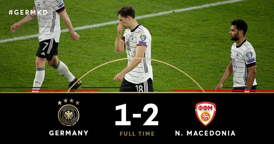 غضب عارم في ألمانيا بعد هزيمة نكراء في تصفيات مونديال 2022