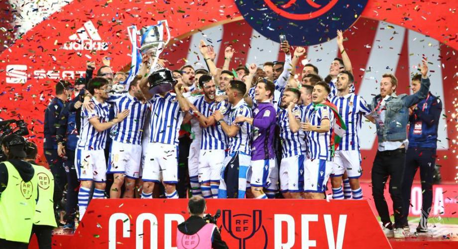 Espagne: la Real Sociedad remporte la Coupe du Roi 1-0 contre l'Athletic Bilbao