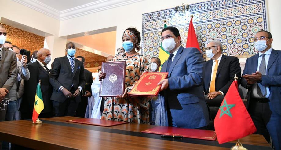 تفاصيل اتفاقيتي تعاون ومذكرة تفاهم تم توقيعها بالداخلة بين المغرب والسنغال