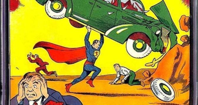 """بيع نسخة نادرة من قصة مصورة لـ""""سوبرمان"""" مقابل 3.3 مليون دولار"""