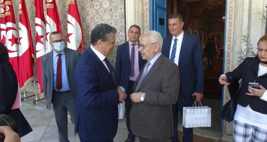 الغنوشي يؤكد تمسكه الراسخ بتعزيز العلاقات المغربية-التونسية وبالحلم المغاربي