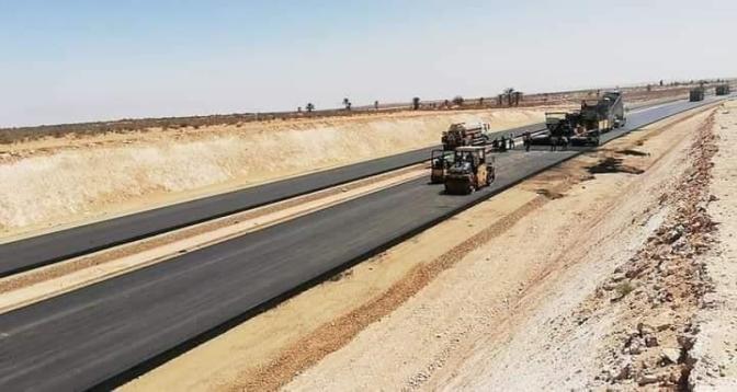 الطريق السريع تزنيت – الداخلة: الأشغال بإقليم طانطان تقدمت ب 31 في المائة