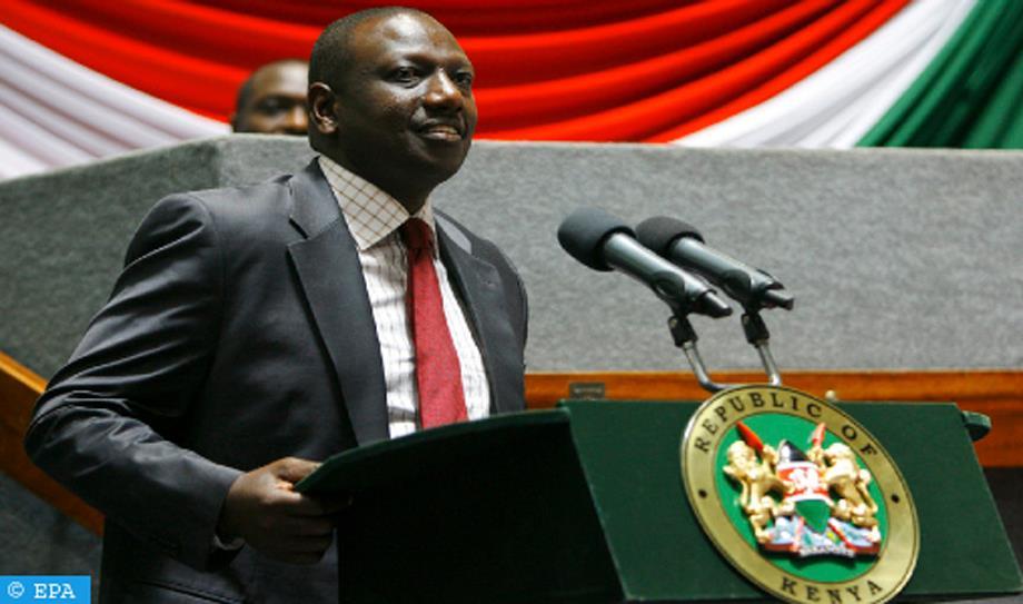 ثاني أكبر يومية في كينيا تسلط الضوء على تأييد نائب الرئيس لمخطط الحكم الذاتي المغربي