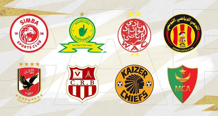 الأندية المتأهلة إلى دور ربع نهائي دوري أبطال افريقيا