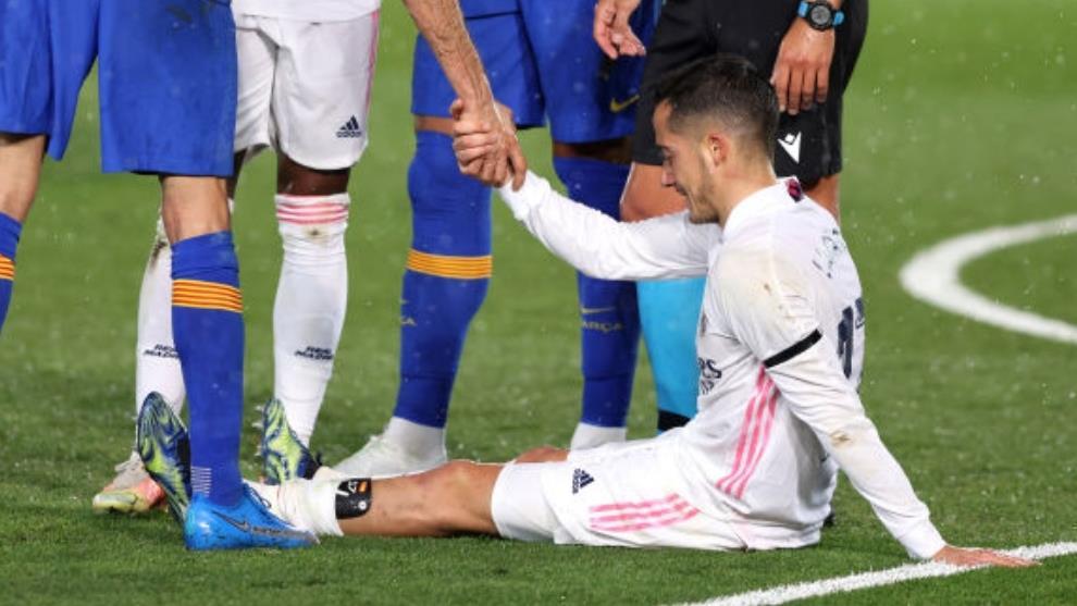 إصابة فاسكيس قد تبعده عن ريال مدريد حتى نهاية الموسم