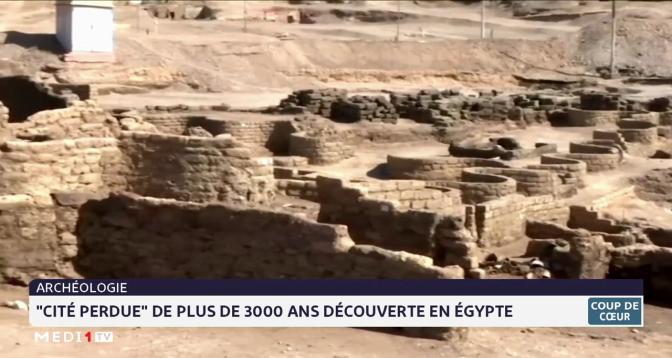 """Coup de cœur: """"Cité perdue"""" de plus de 3000 ans découverte en Egypte"""