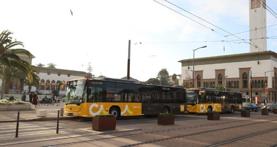 النقل الحضري بالدار البيضاء .. تحديث أسطول الحافلات عنوان مرحلة جديدة