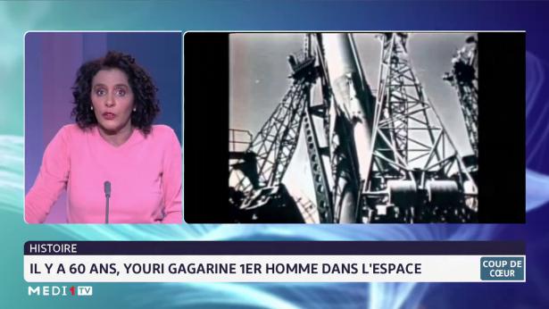 Histoire: il y a 60 ans, Youri Gargarine 1er homme dans l'espace