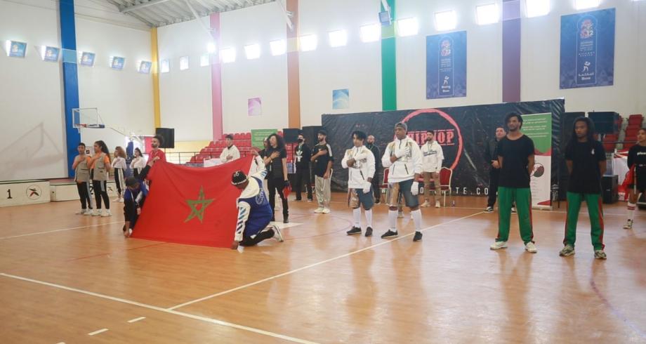 نتائج نهائي بطولة المغرب في الهيب هوب
