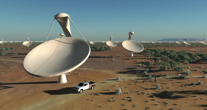 أستراليا تعتزم بناء أكبر تلسكوب لاسلكي في العالم