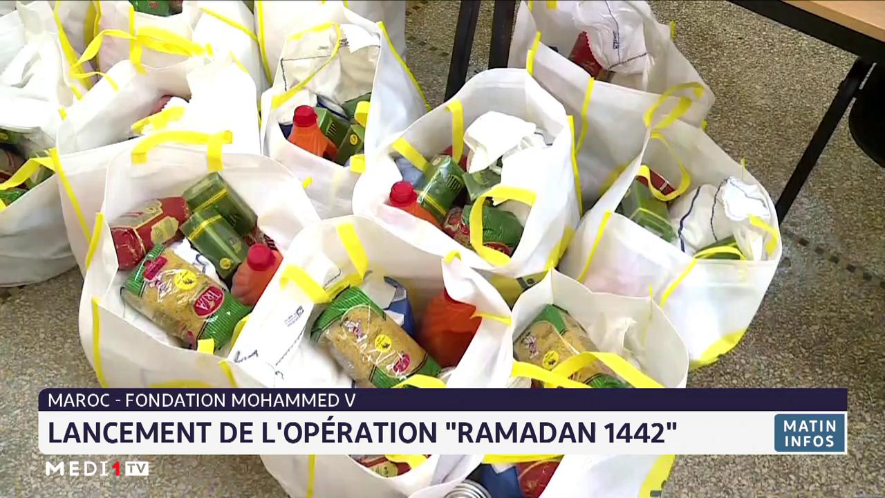 """La fondation Mohammed V lance l'opération """"Ramadan 1442"""""""