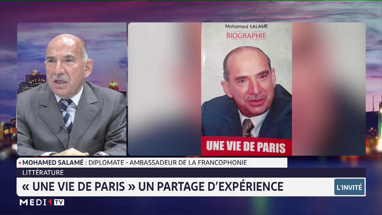 """Littérature: Mohamed Salamé présente son livre """"Une vie de Paris"""""""