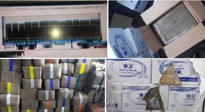 Saisie de près de 10 tonnes de chira au port de Casablanca