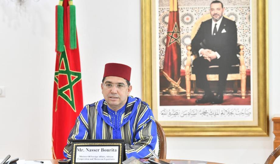 ناصر بوريطة يتباحث مع نظيره المصري