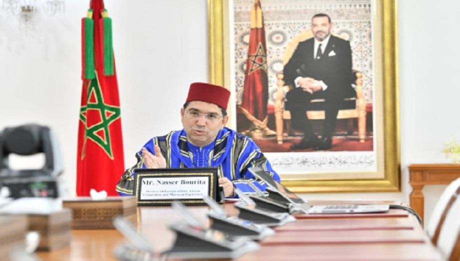 L'accompagnement par l'UE des réformes structurantes, menées sous les Hautes orientations royales, au cœur d'entretiens entre Bourita et Várhelyi