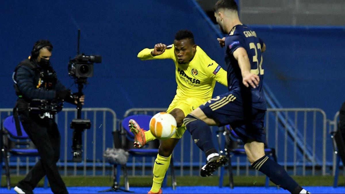 فياريال يفوز على دينامو زغرب ويضرب موعدا مع أرسنال في نصف النهائي
