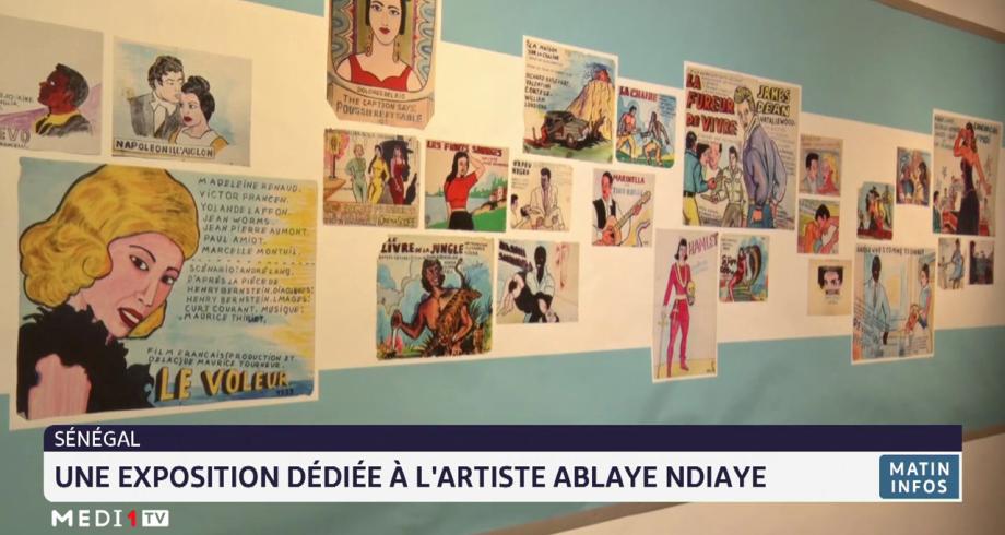 Sénégal: une exposition dédiée à l'artiste Ablaye Ndiaye