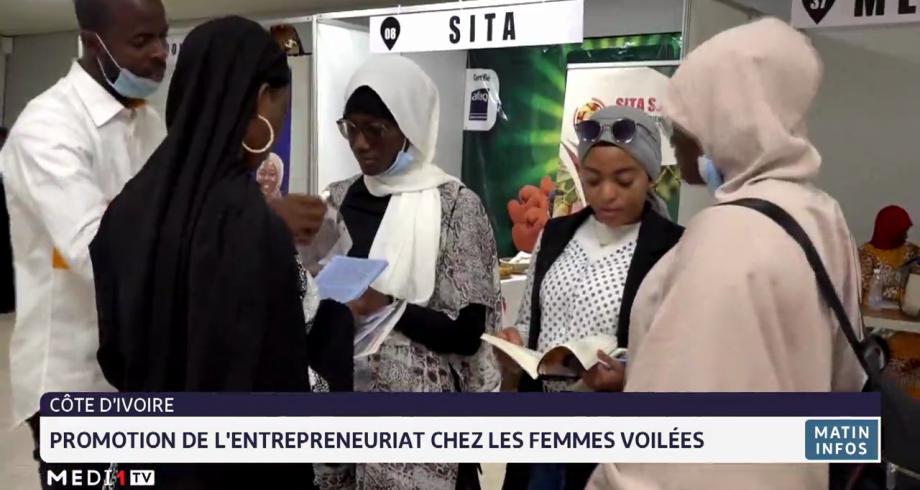 Côte d'Ivoire: promotion de l'entrepreneuriat chez les femmes voilées