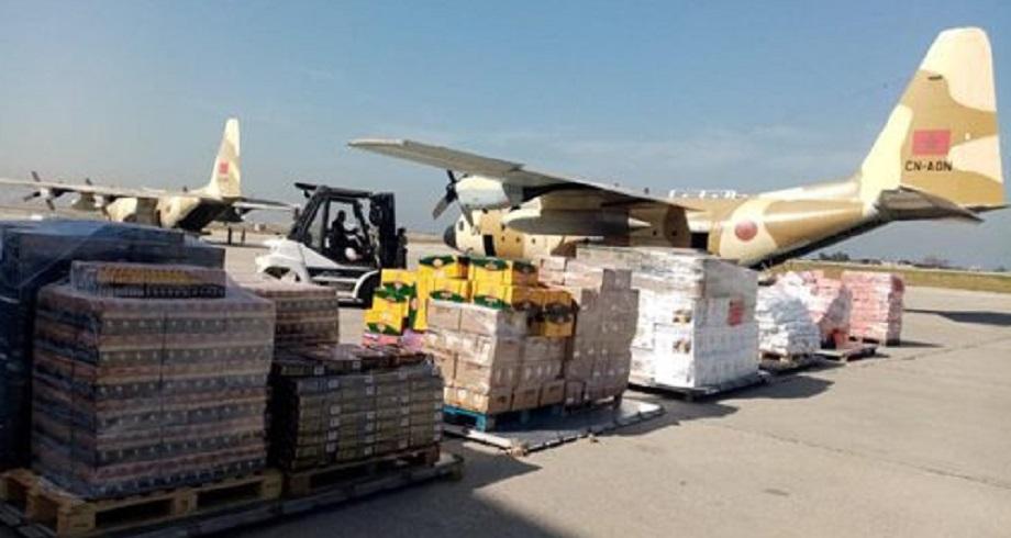 Don royal: arrivée à Beyrouth du 2è lot des aides alimentaires destinées aux forces armées et au peuple libanais