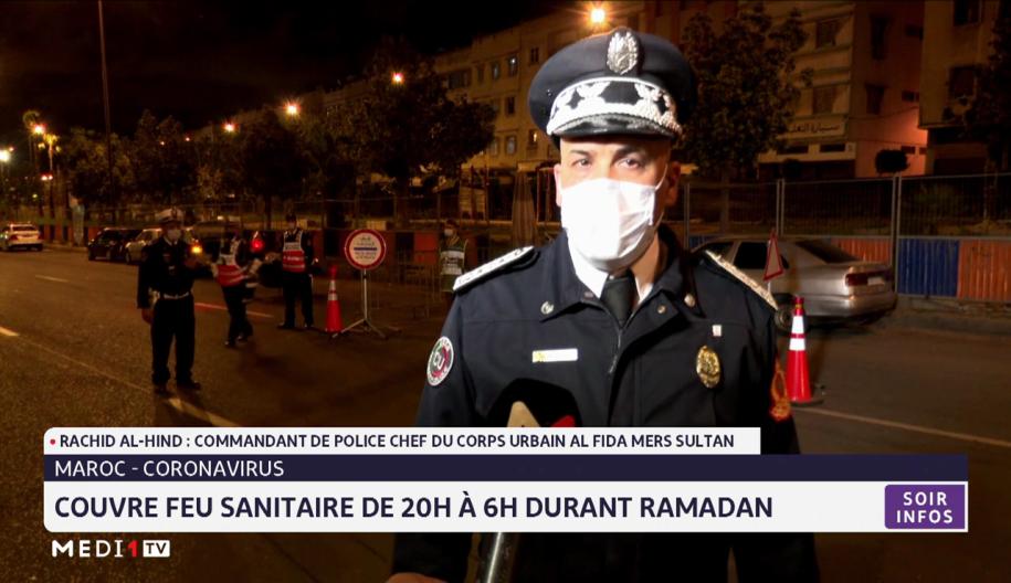 Maroc-Coronavirus: couvre feu sanitaire de 20 heures à 6 heures durant Ramadan