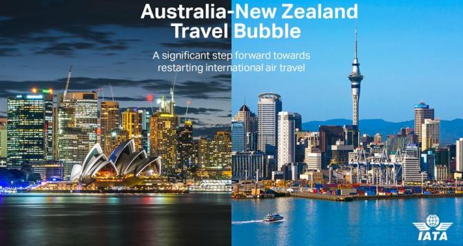 انطلاق السفر بدون حجر صحي بين أستراليا ونيوزيلندا