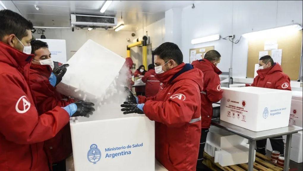 """الأرجنتين تتسلم 864 ألف جرعة من لقاح """"أسترازينيكا"""""""