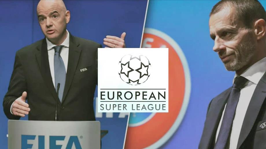 """""""زلزال"""" يهز الكرة الأوروبية .. موقف """"فيفا"""" وأبرز ردود الأفعال حول الدوري السوبر"""
