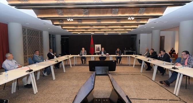أبرز محاور اجتماع مكتب الجامعة الملكية المغربية لكرة القدم