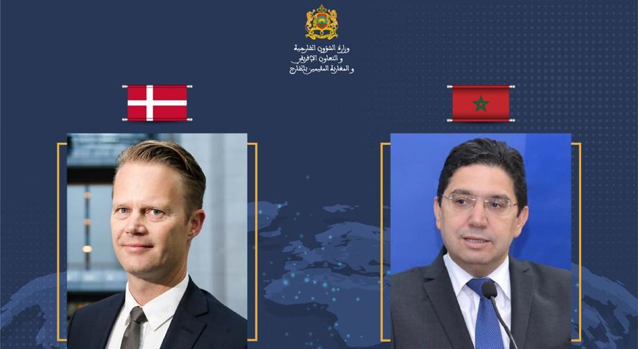 بوريطة يتباحث مع وزير الخارجية الدنماركي