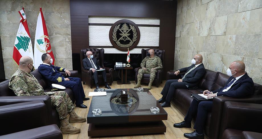 قائد الجيش اللبناني يعرب عن شكره وامتنانه للملك محمد السادس