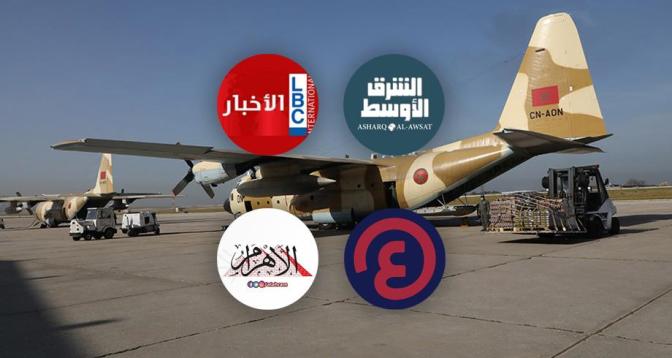 مساعدات مغربية إلى لبنان ..أصداء قوية للمبادرة الملكية