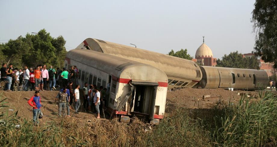 خروج قطار عن السكة في مصر .. توجيه تهم الإهمال والإخلال للمتهمين
