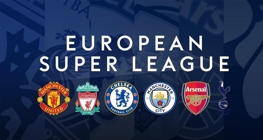 """Les clubs anglais se retirent de la """"Super League"""""""