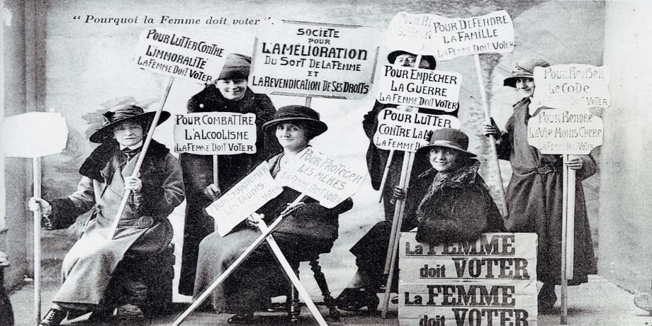 La Femme française doit voter !